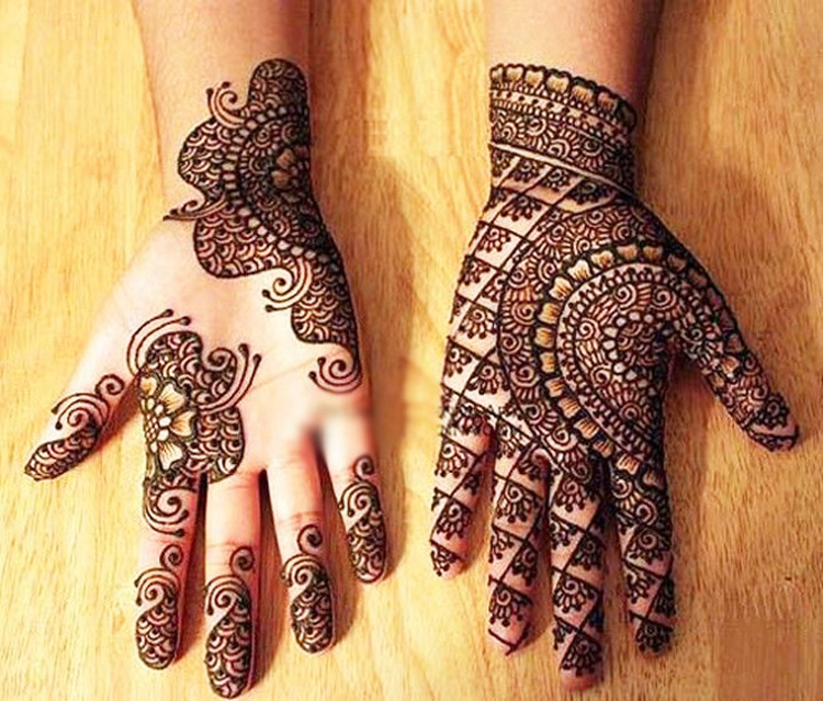 Mehndi Designs 2018 : New best eid mehndi designs crayon