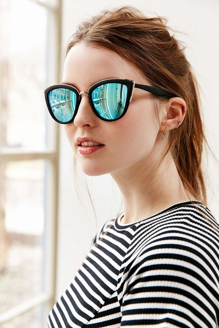 36a27c0f6f8 Sunglasses offer edge to even the sweetest outfits and run with any face  shape. Mostly