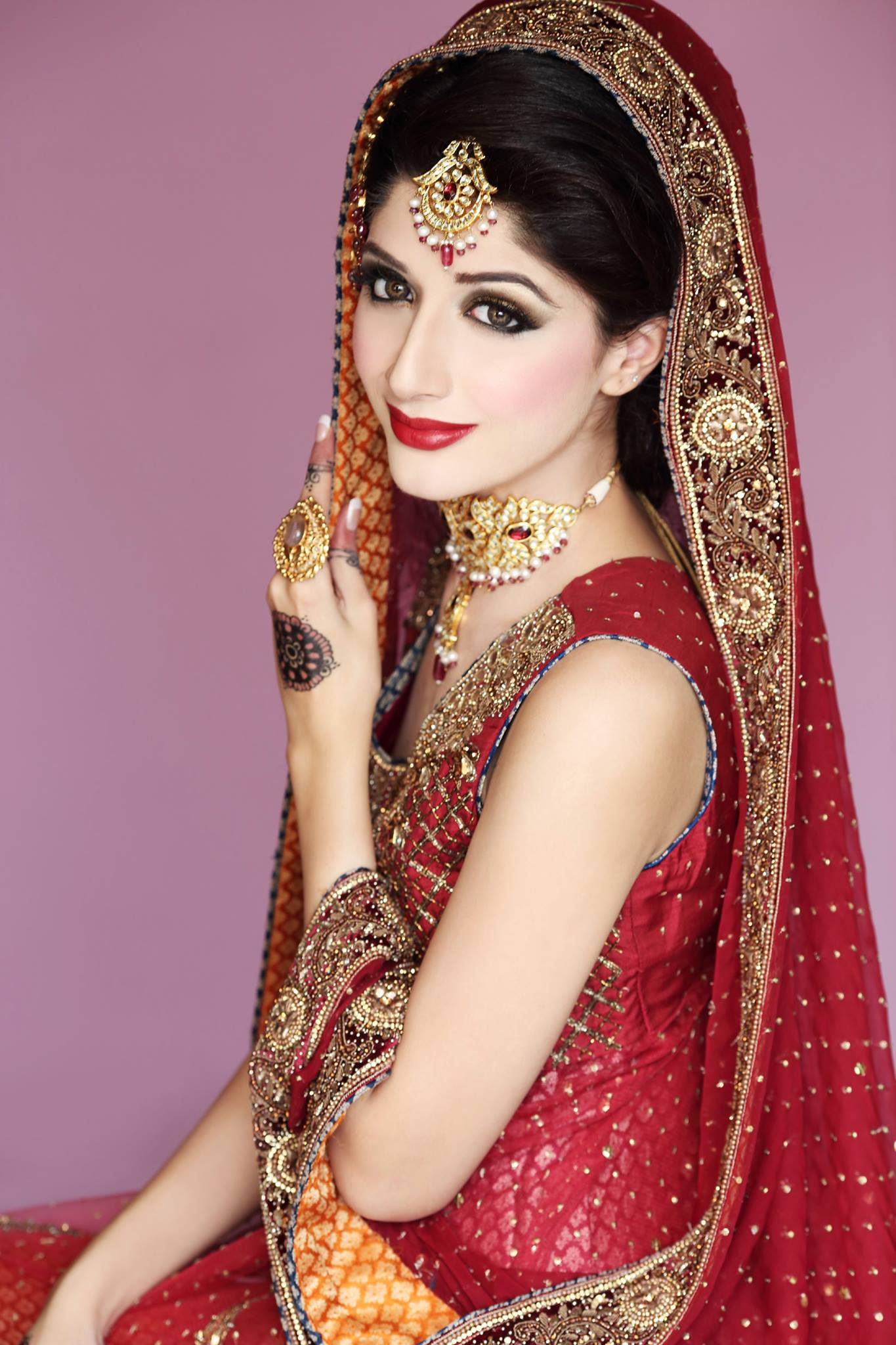 20 pakistani bridal makeup ideas for wedding - makeup - crayon
