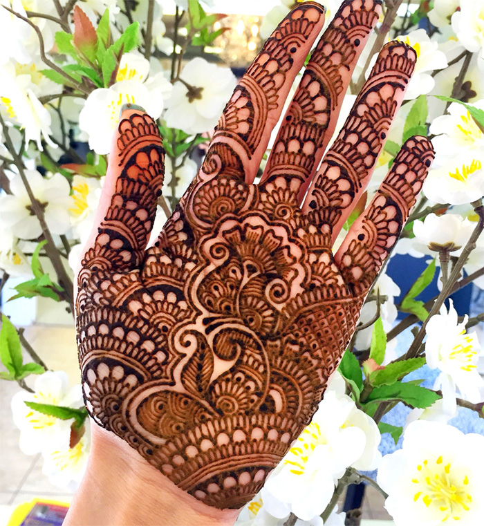 pakistani henna art ideas for new year