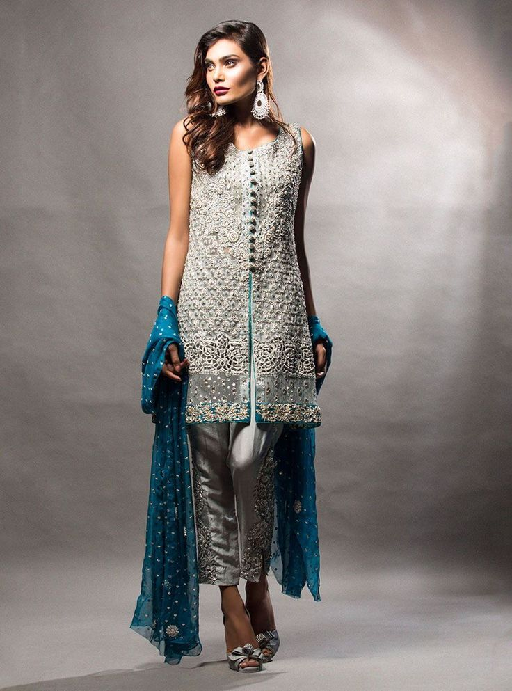 25 Latest Trends In Pakistani Party Dresses 2018 Crayon