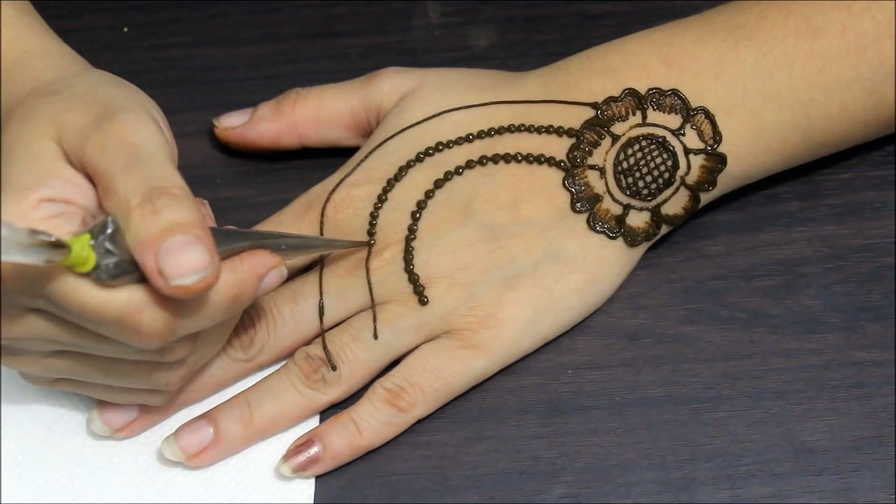Very easy henna designs for hands