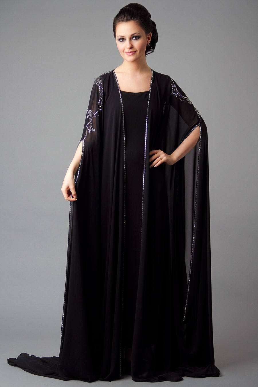 Fashion style New abayas stylish for girls