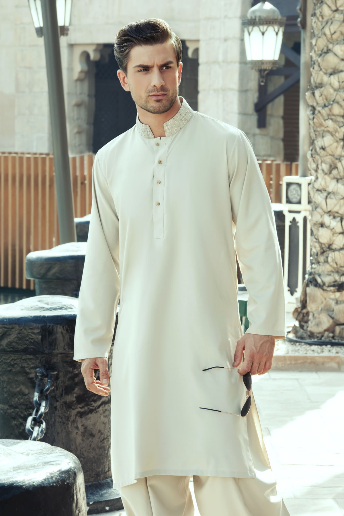 0efe807d6c 30 Stylish Men Shalwar Kameez Designs 2019 - Dresses - Crayon