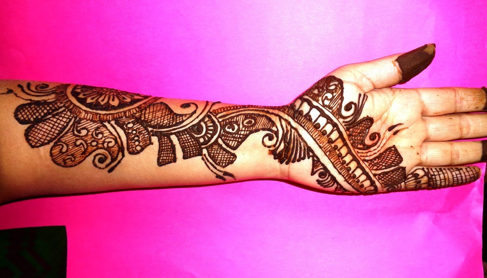 20 Beautiful And Easy Mehndi Designs 2018 Mehndi Crayon
