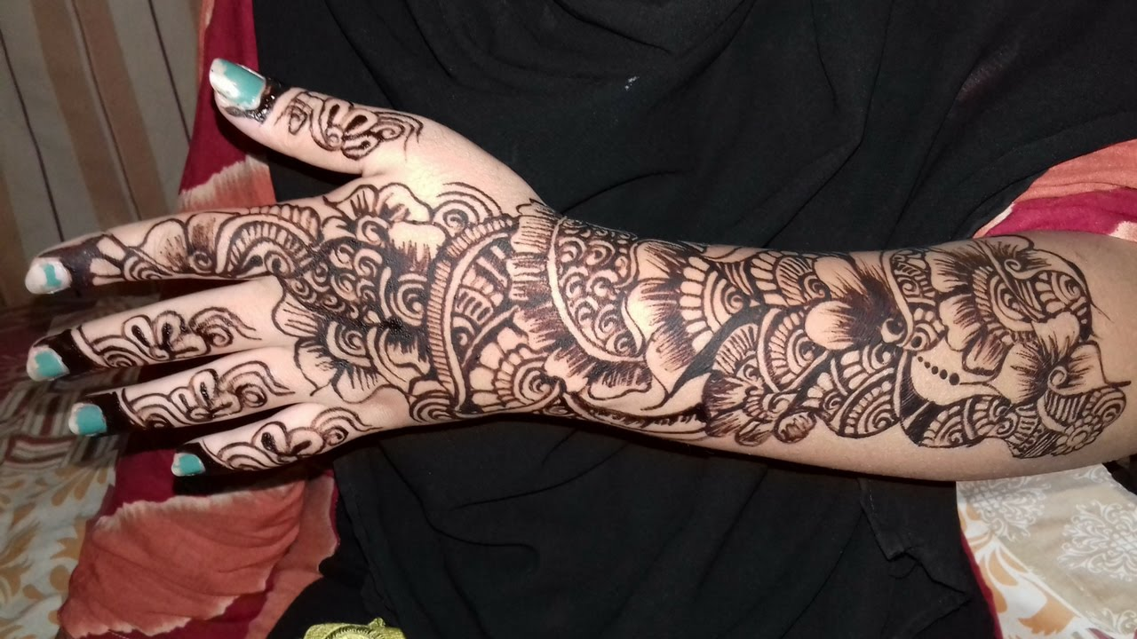 new year mehndi design ideas for full hands