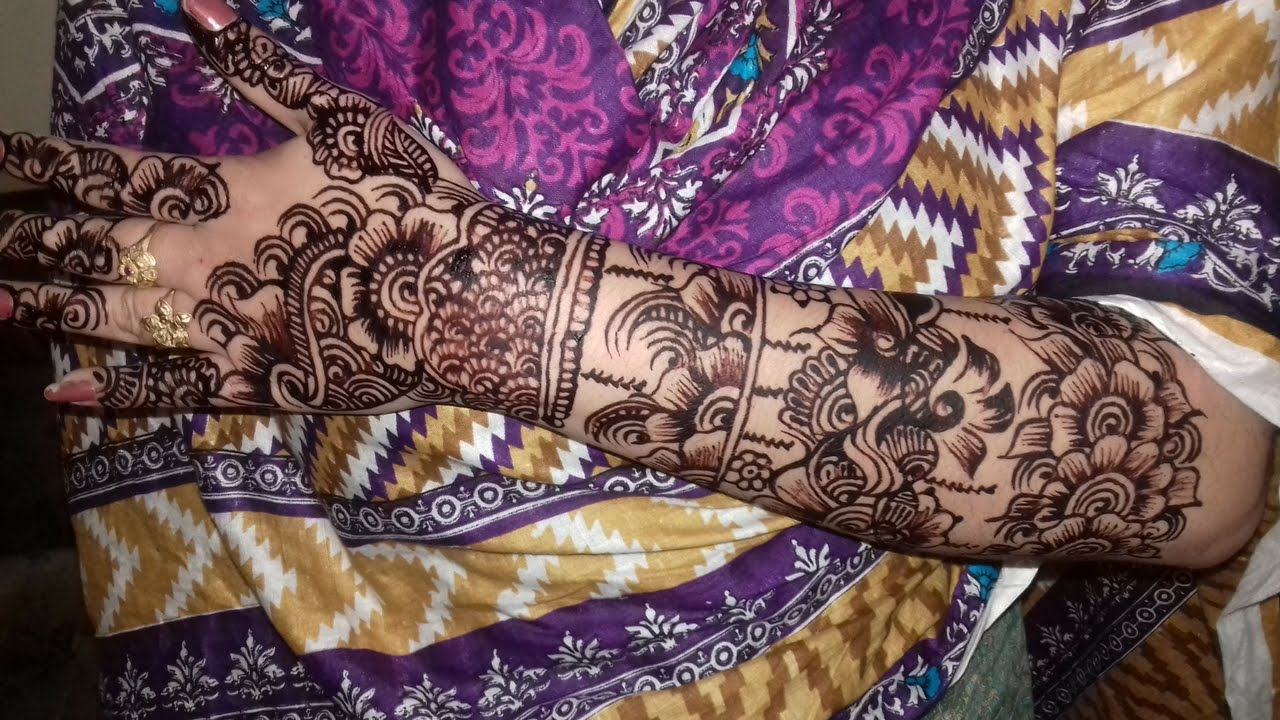 new year mehndi designs on hands