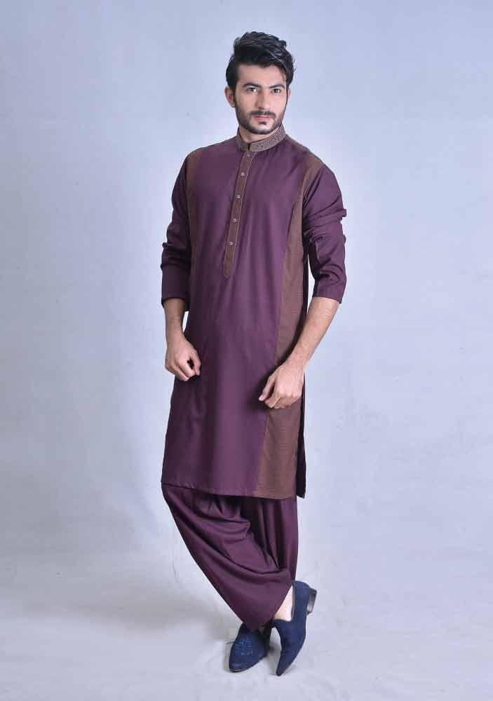 90eb033f7a 30 Stylish Men Shalwar Kameez Designs 2019 - Dresses - Crayon