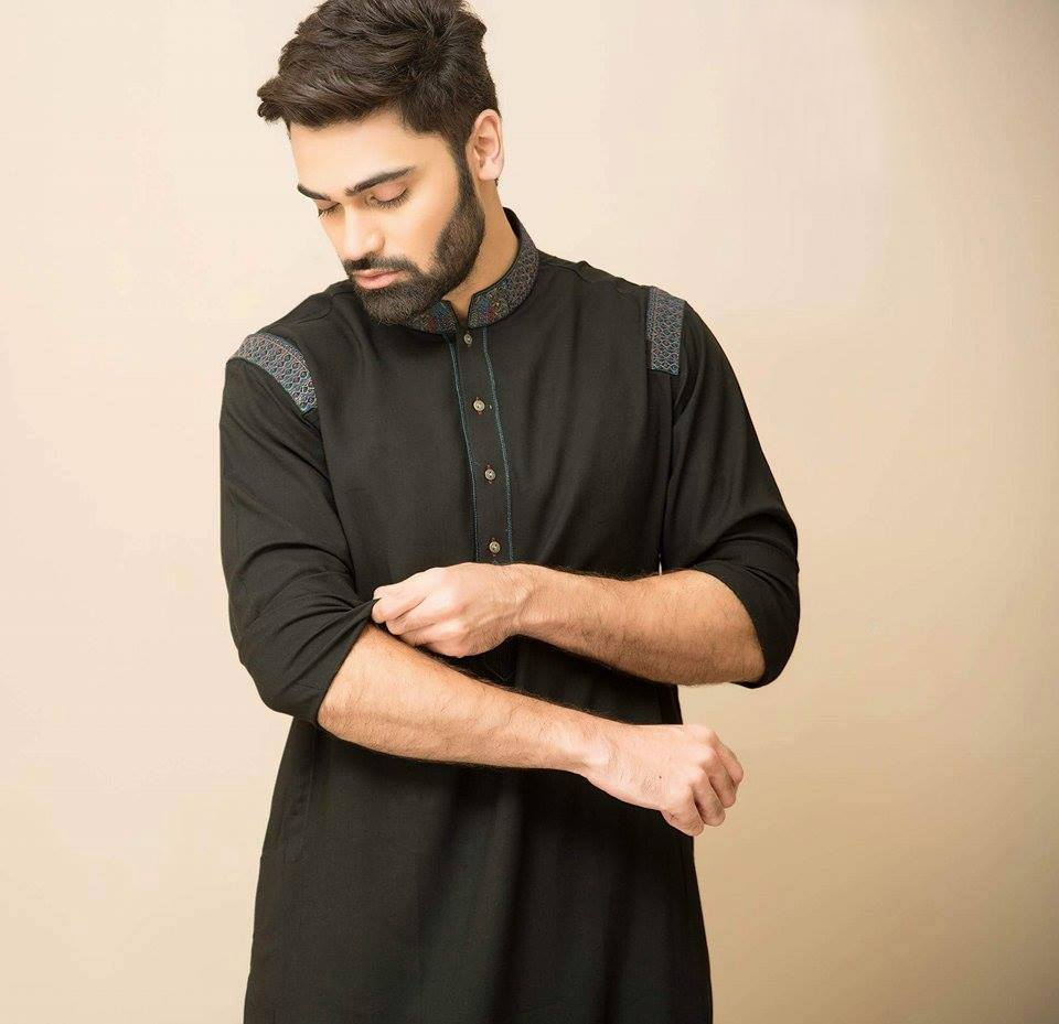 aa26ceba56 30 Stylish Men Shalwar Kameez Designs 2019 - Dresses - Crayon