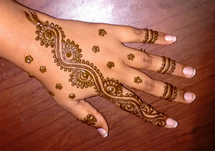 Mehndi Quotes For Him : Valentines day mehndi design best picture