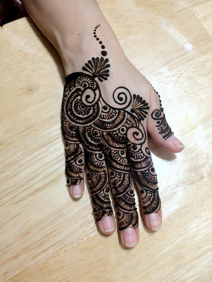 Finger Henna Designs Mehndi Designs For: 30 Stylish Back Hand Mehndi Designs For Ladies
