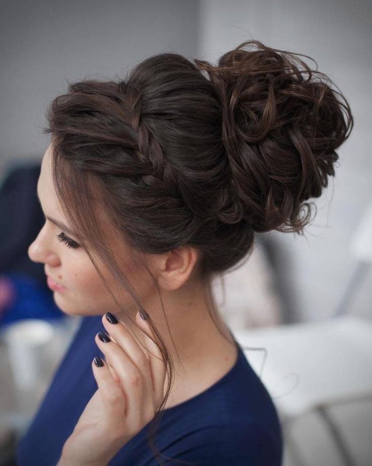 20 Awesome Bun Hairstyles For Girls 2018 Hairstyles Crayon