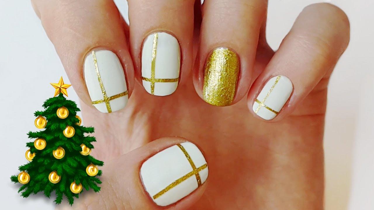 20 Cute Nail Designs For Christmas 2018 Nail Art Crayon