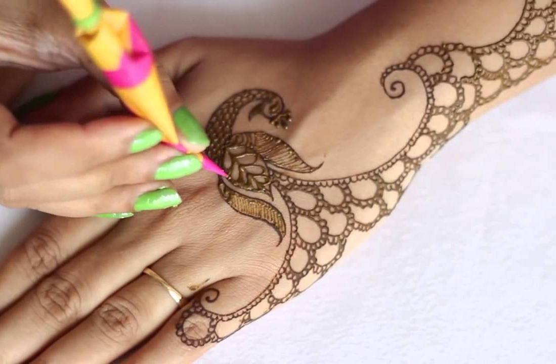 Mehndi Henna Designs Peacock : Dancing peacock henna designs crayon