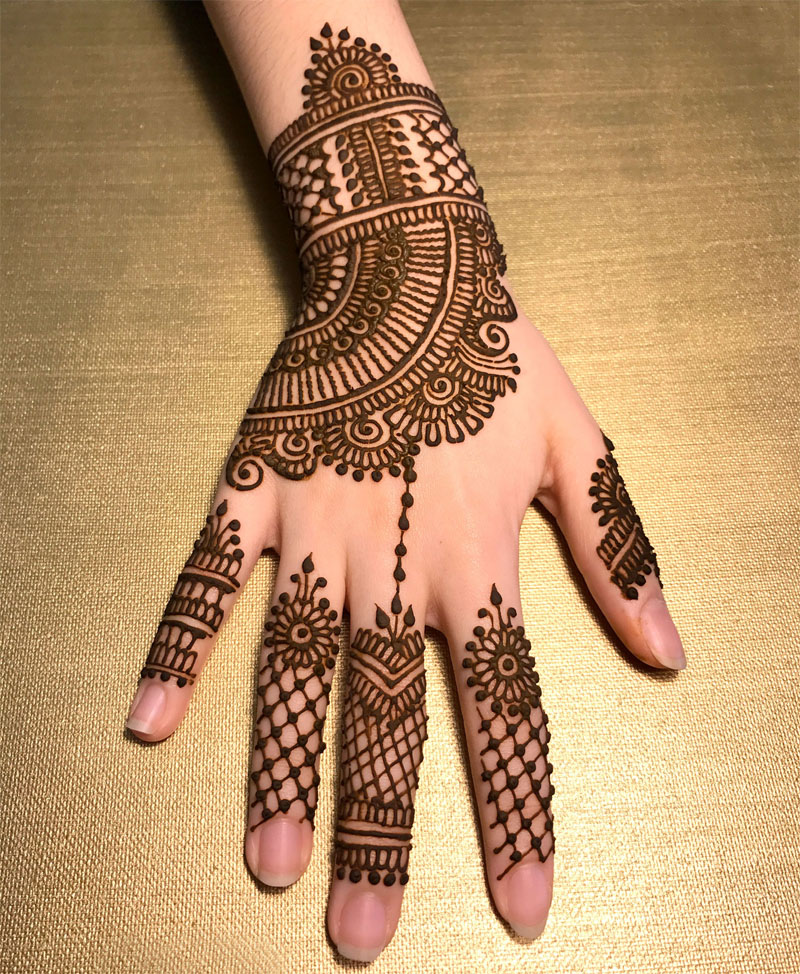 Mehndi Fingers Zara : Latest finger mehndi designs for crayon