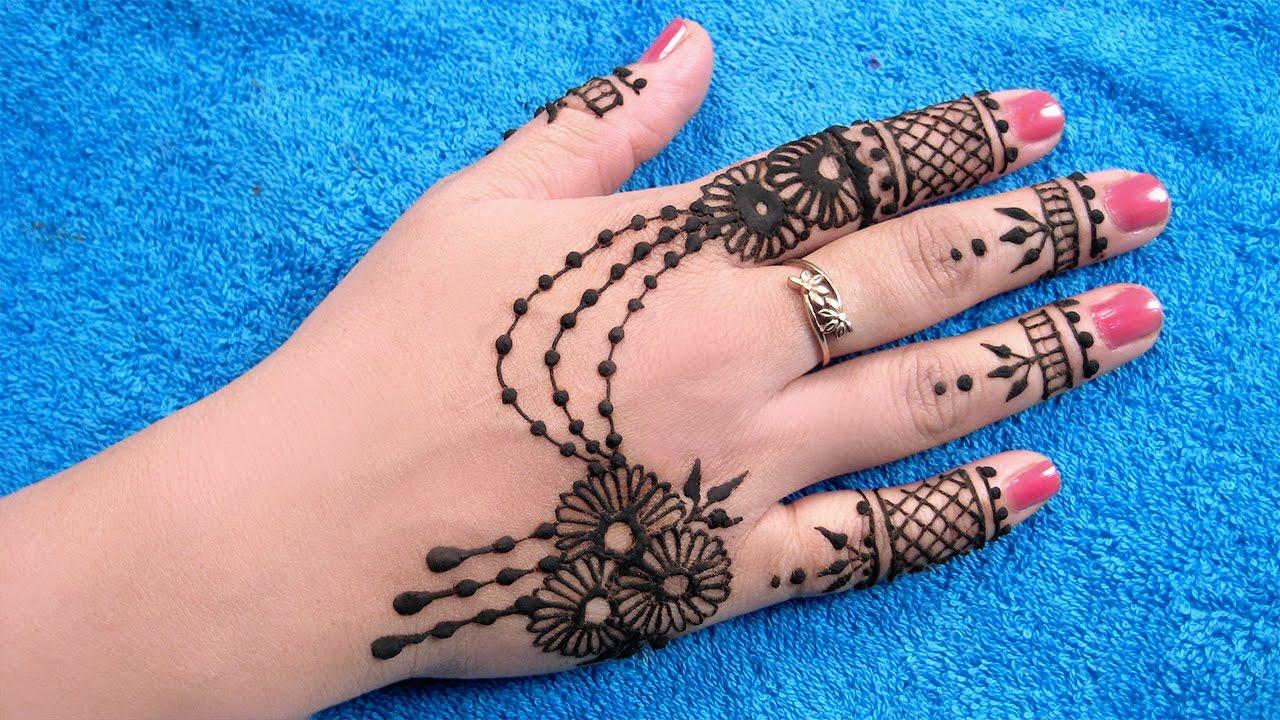 Best Mehndi Design Arabic