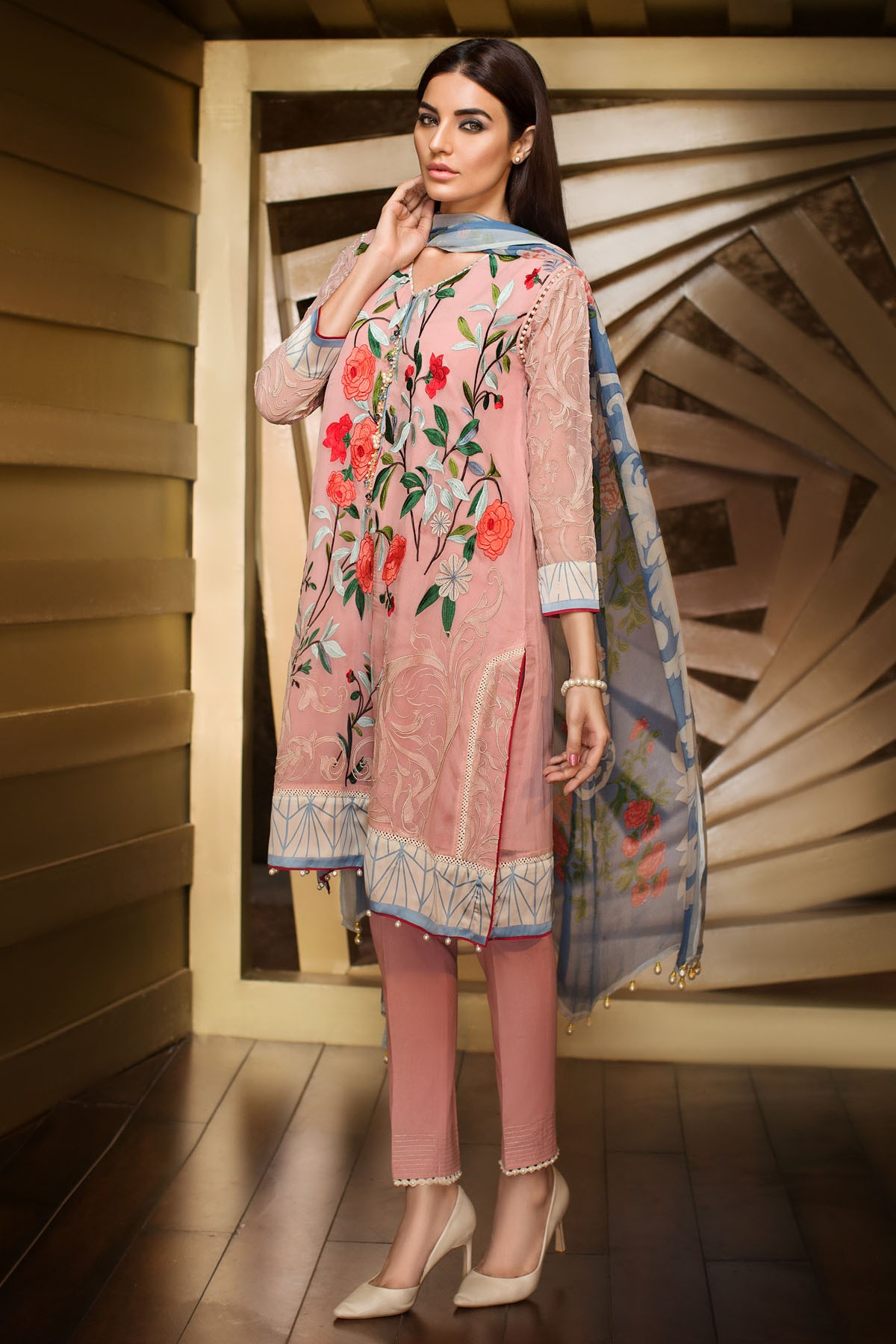 15 Pakistani Casual Dresses For Ladies - Dresses - Crayon