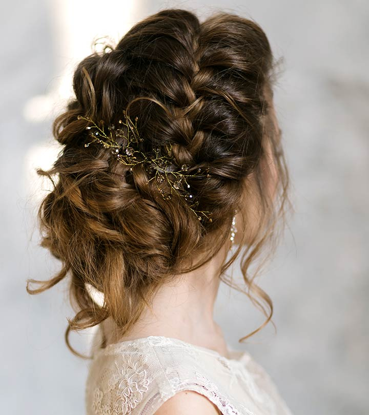 15 Best Bridal Hairstyles For Every Length Hairstyles Crayon