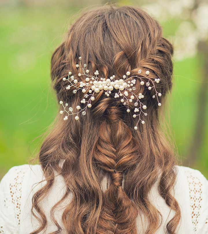 Curly Updo Hairstyles For Weddings: 15 Best Bridal Hairstyles For Every Length