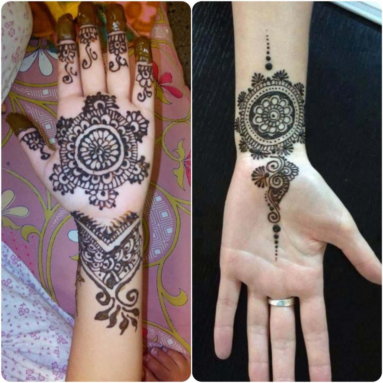 Mehndi Tiki Designs
