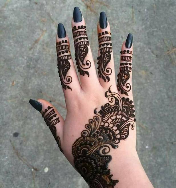 25 Latest Mehndi Designs For Girls 2019 Mehndi Crayon