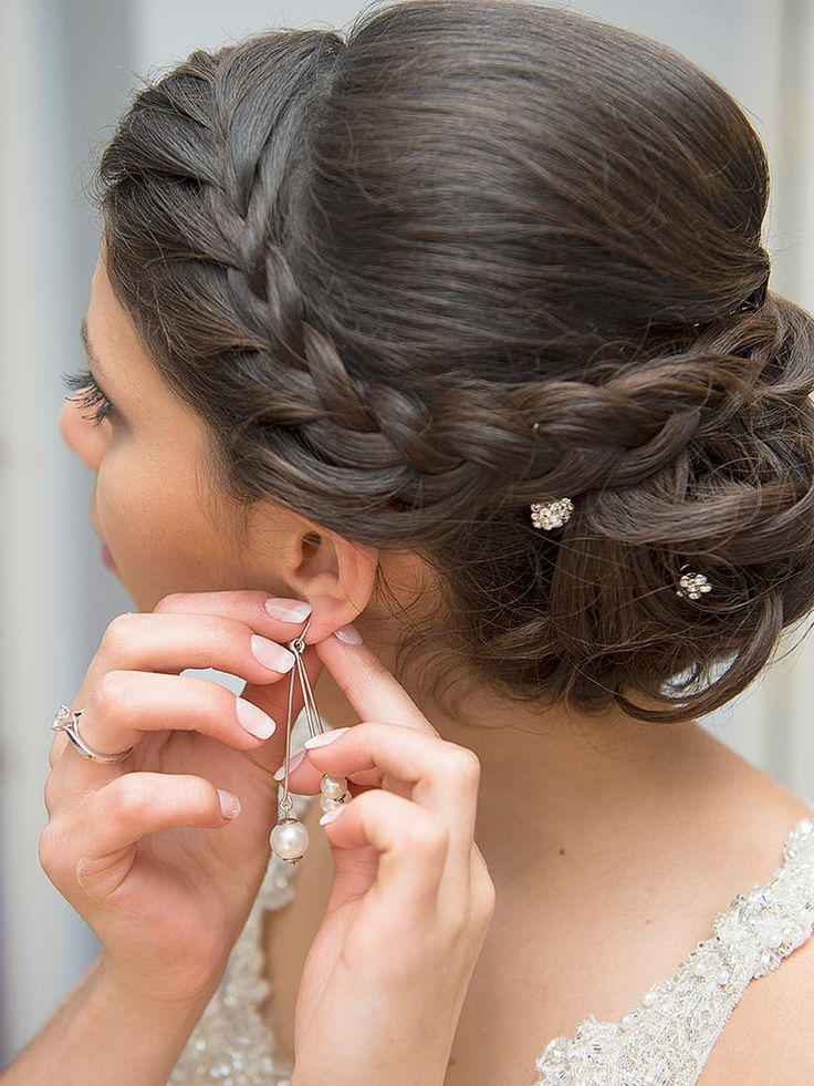 Simple Hairstyle For Asian Weddings Crayon