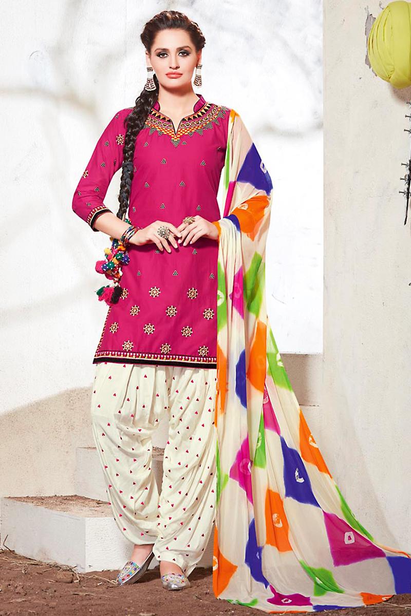 6ef6ddeca3 25 Beautiful Patiala Salwar Kameez Designs - Dresses - Crayon