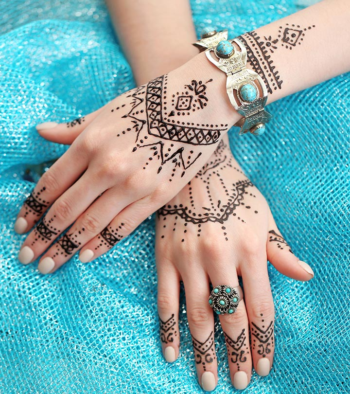17 Lovely Bangle Mehndi Designs 2018 - Mehndi - Crayon