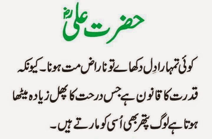 20 Best Hazrat Ali Ra Quotes In Urdu Inspiration Crayon