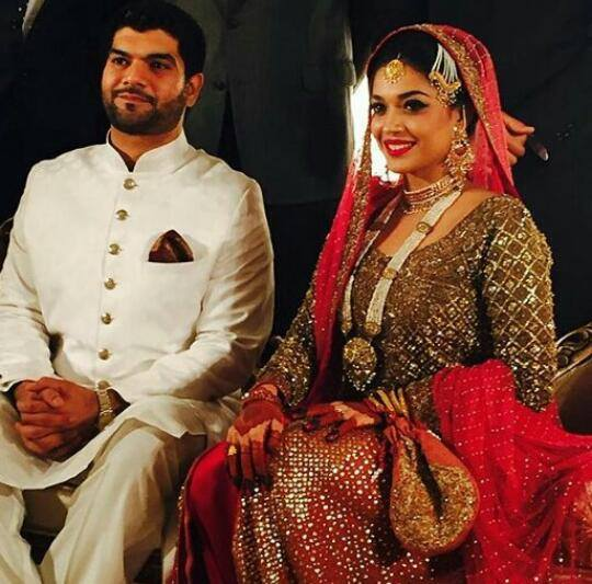 Sanam Jung Is Married To Qaam Who A Pilot By Profession Celebrities Made The Event More Highlighted With Their Presence S Friend And Actor