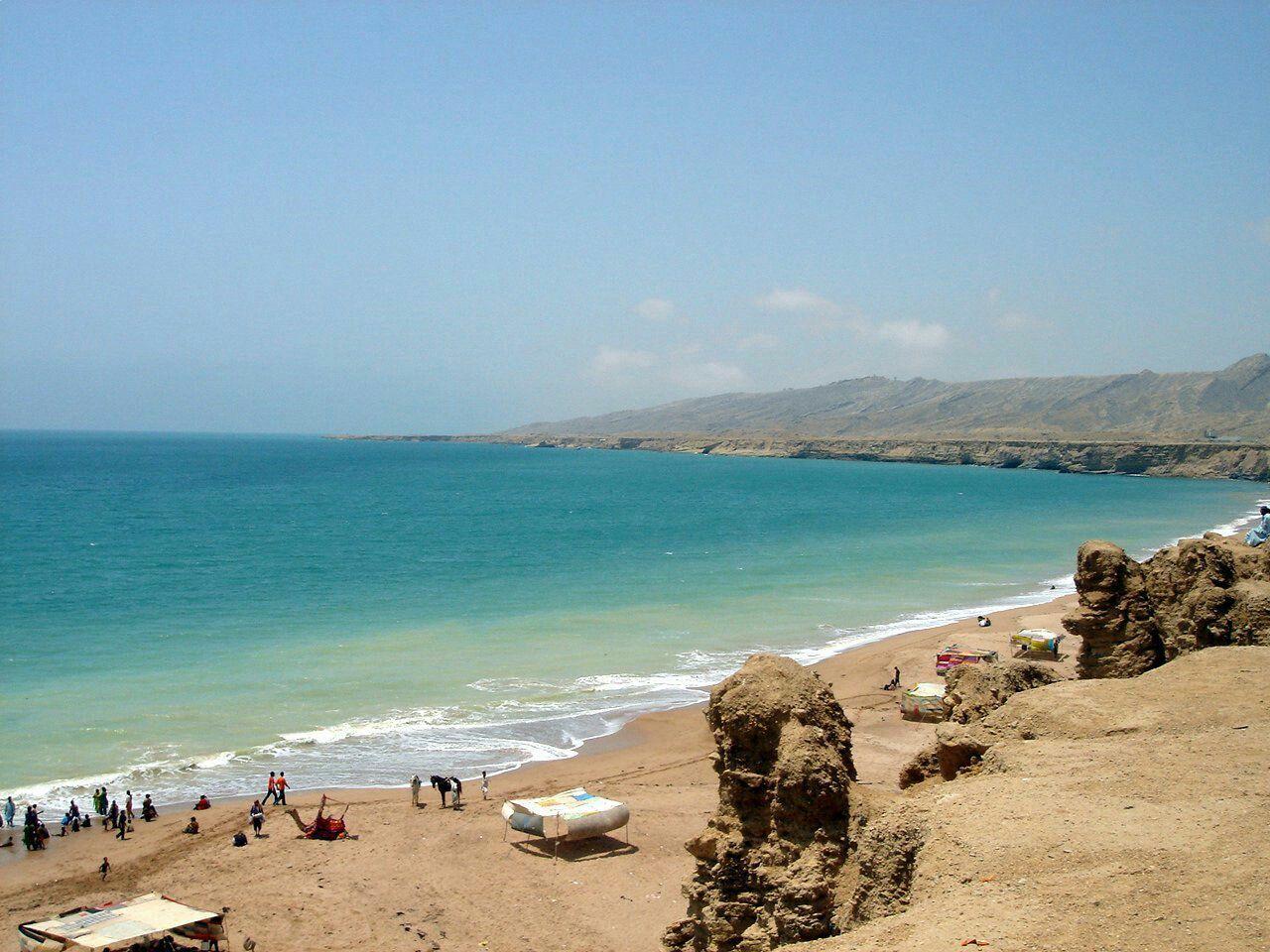 Clifton beach karachi photos