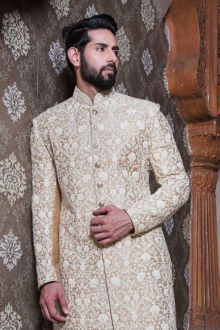 Modern Dulha Clothes Styles 2018