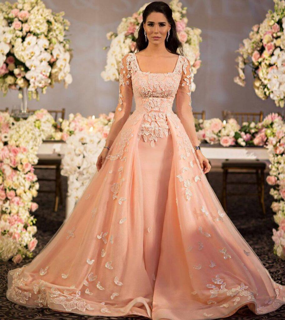 Pakistani Designer Dresses For Engagement Party