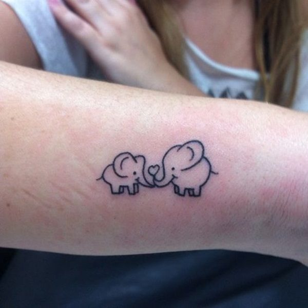 22 Best Tiny Elephant Tattoos Pictures - Crayon