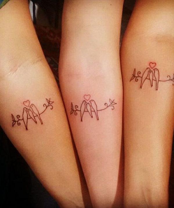 Beautiful Birds Family Tattoo Designs Meaningful Family Tattoos