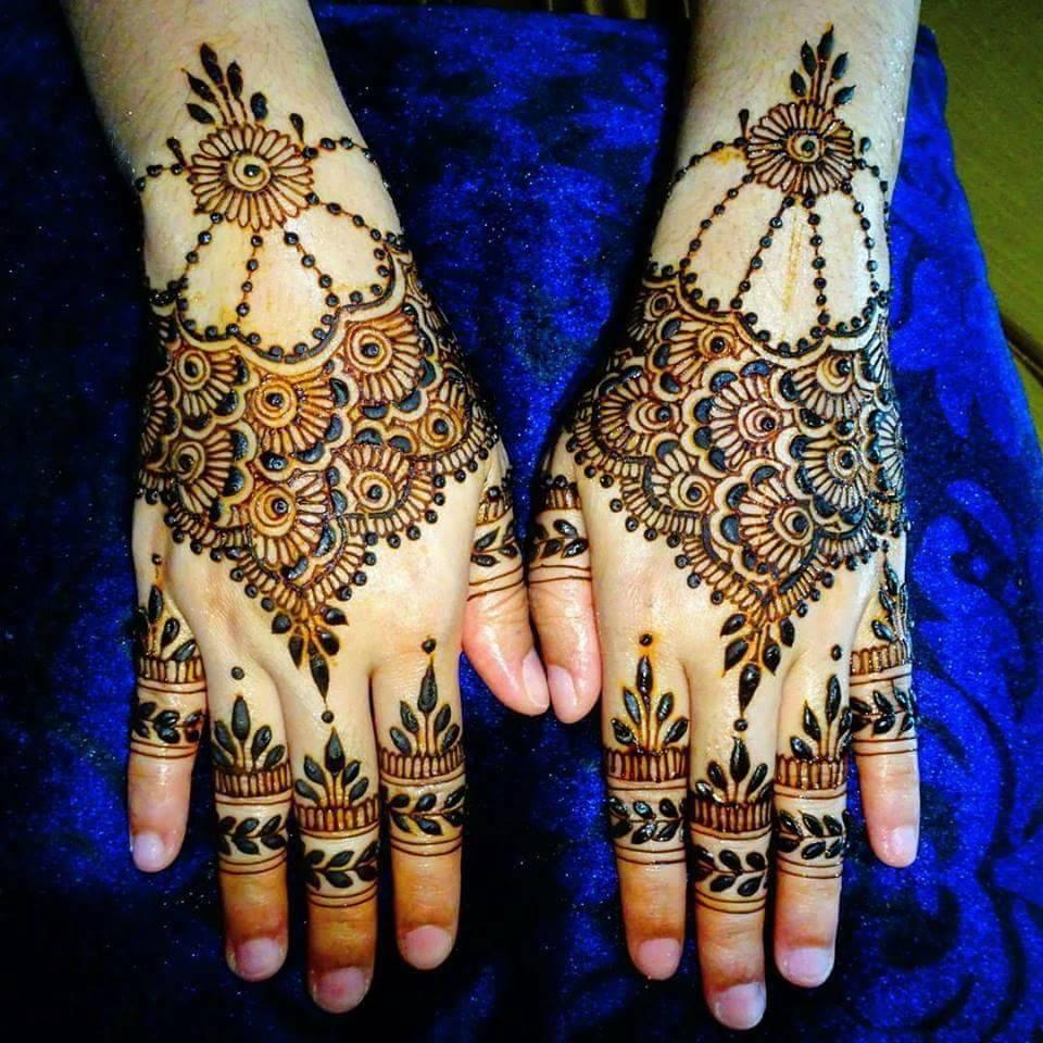 Trending Mehndi Designs 50 Latest Henna Tattoo Ideas For 2018: 24 Best Hand Foot Matching Mehndi Designs 2018