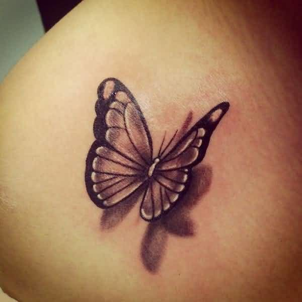 3d Butterfly Tattoo Design Unique Butterfly Tattoos Butterfly