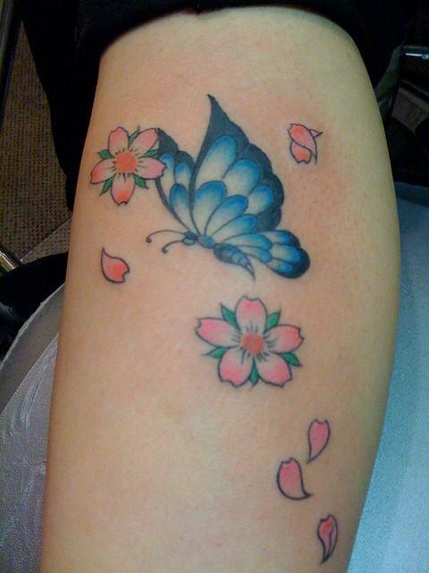 dbd252a1bfa29 Cute Butterfly Tattoo Design - Unique Butterfly Tattoos - Butterfly ...
