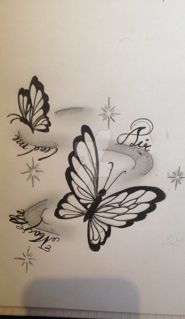 Ex Butterfly Tattoo Design Unique Butterfly Tattoos Butterfly