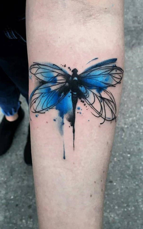 a49f9b7090587 Loveable Colorful Butterfly Tattoo Design. Do you revere your nation? This  is a very classy and perfect tattoo in the case. Or on the other hand, ...