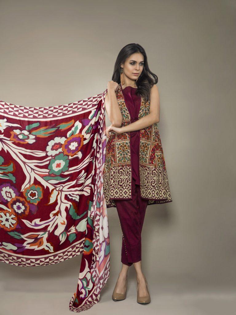 15 Winter Shalwar Kameez Designs For Girls Dresses Crayon