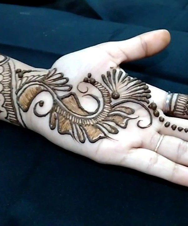 Advanced Front Hand Mehndi Design Front Hand Eid Mehndi Designs