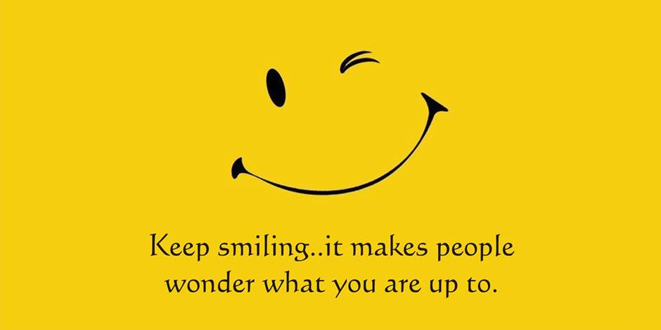 Keep Smiling Quote - Crayon