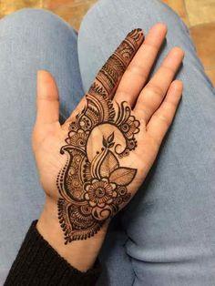 Leaves Front Hand Mehndi Designs Front Hand Eid Mehndi Designs