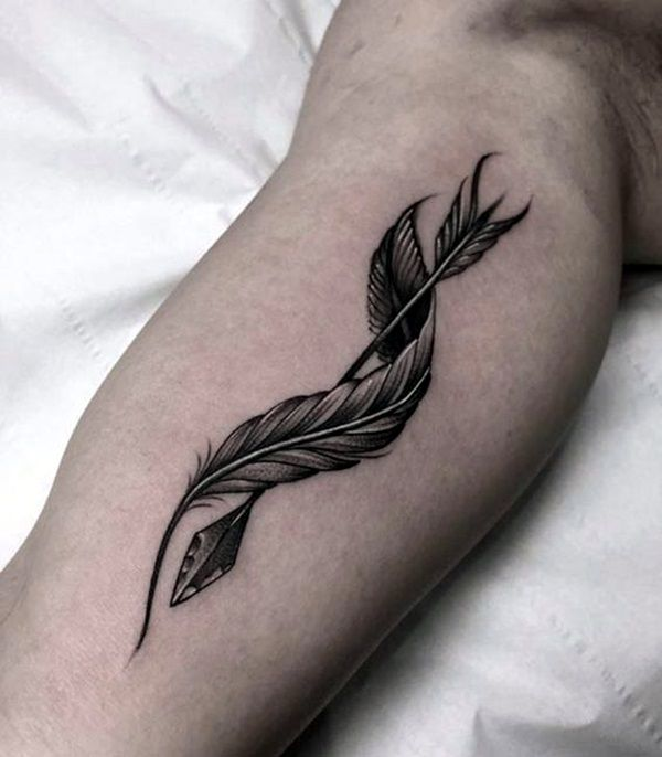 Quill Easy Simple Tattoo - Easy Simple Tattoos - Easy ...