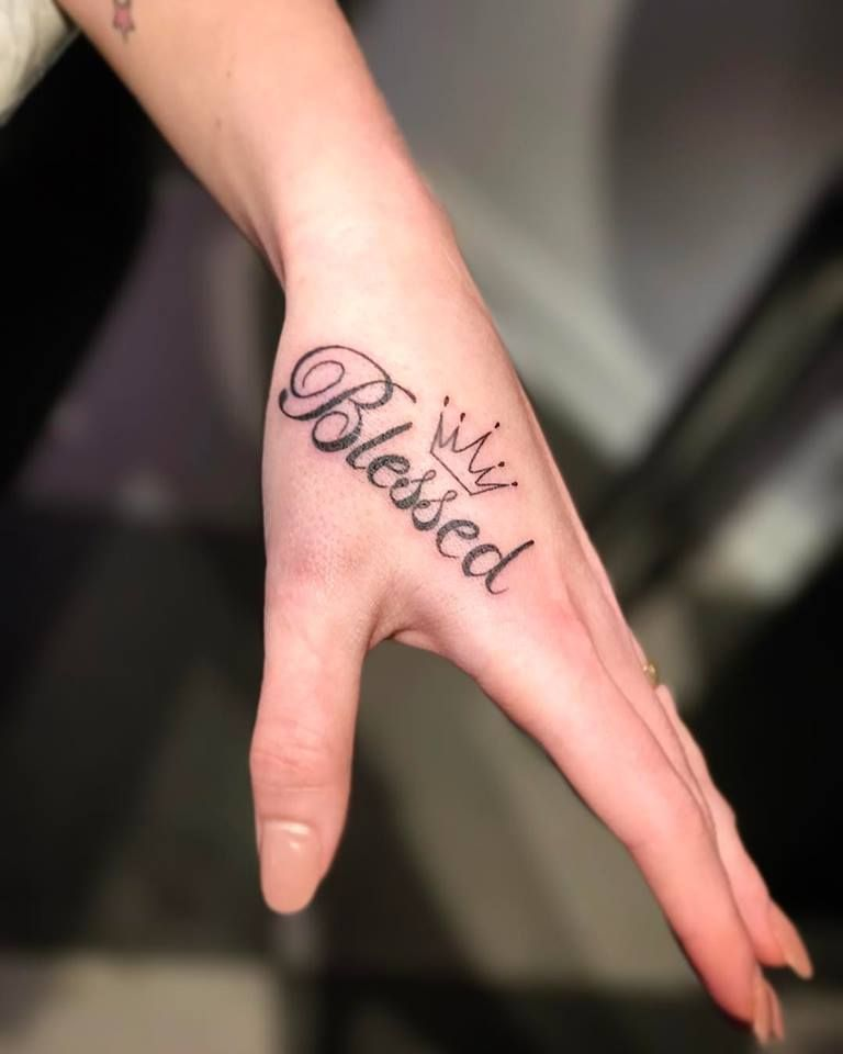 Tattoo Quotes Hand: Stay And Quote Easy Hand Tattoo