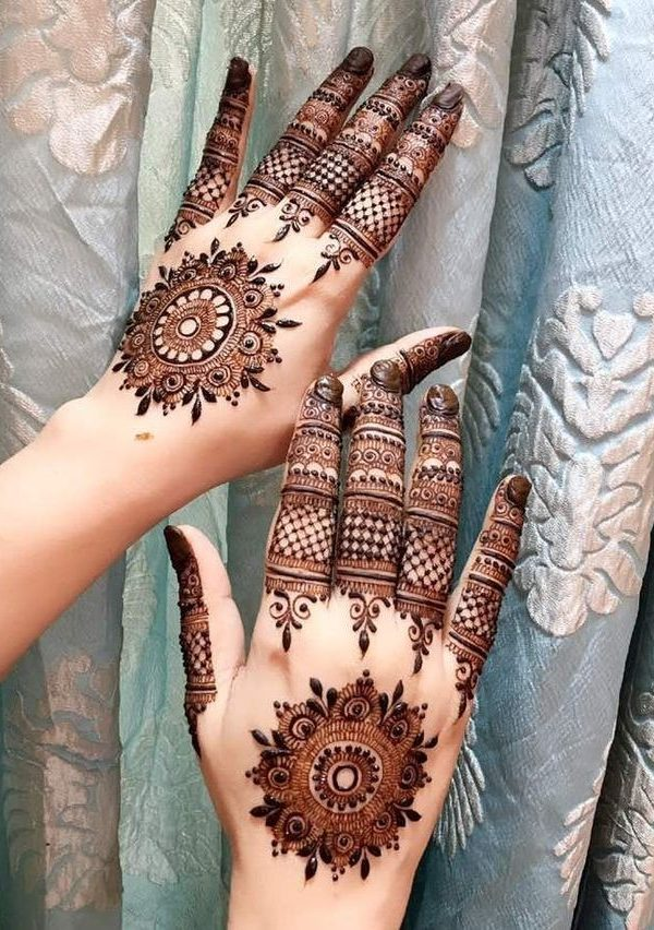 arabic eid latest mehndi design