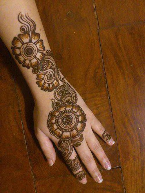 Latest Floral Mehndi Design Floral Eid Mehndi Designs Eid Mehndi