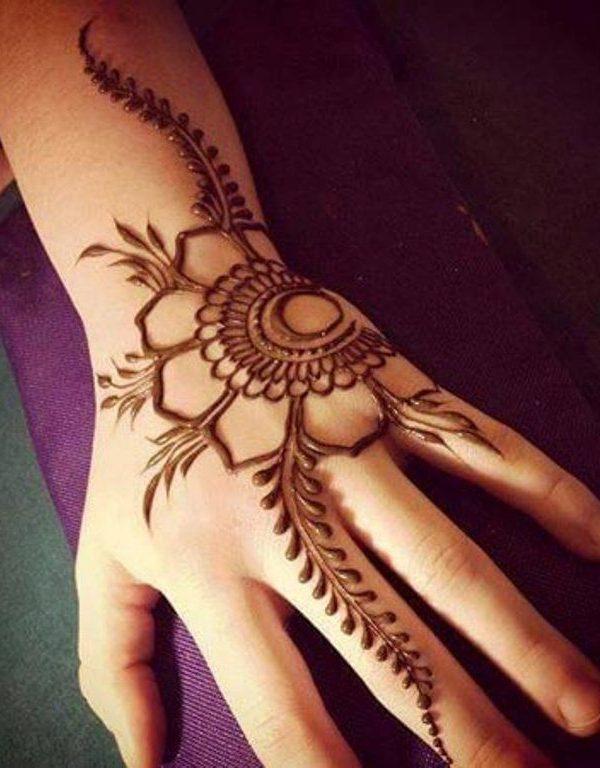 Lovely Floral Mehndi Designs Floral Eid Mehndi Designs Eid