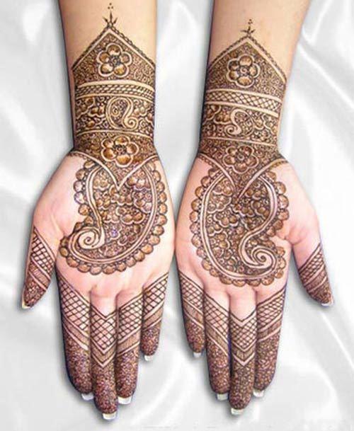 Paisley Indian Mehndi Design Indian Eid Mehndi Designs Eid